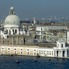 Venice, view on Santa Maria della Salute church, Grand Canal