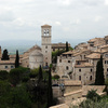 The old town of Assisi