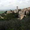 View on the old town of Assisi