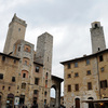 """""""Cisterna"""" piazza, with 4 of the 13 towers remain. They where 72 between the XI"""