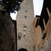 One of the 13 towers still visible in San Gimignano, out of the 72 built betwee