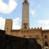 Only 13 towers remain today in San Gimignano. Actually, 72 towers were built be