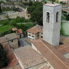 Panoramic view of the town from the highest tower of San Gimignano