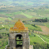 Panoramic view from the highest tower of San Gimignano