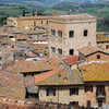 Panoramic view of the town of San Gimignano