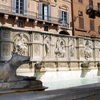 "Fountain ""Gaia"" on the Piazza ""Il Campo"""