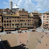 """Piazza """"Il Campo"""", where the Palio Race takes place every year."""