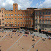 "Piazza ""Il Campo"", where the Palio Race takes place every year."