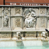 """Gaia fountain in the piazza """"Il Campo"""""""