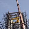June 2008 : Re-installation of Aksum Obelisk (known as Stele 2) in its original