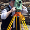 June 2008 : A building surveyor on the workings of the re-installation of the A