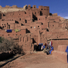 The ksar, a group of earthen buildings surrounded by high walls, is a tradition