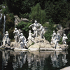 Fountain of the monumental complex at Caserta, created by the Bourbon king Char