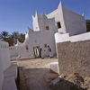 Ghadamès, known as 'the pearl of the desert', stands in an oasis. It is one of