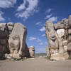 The Lion's gate of Hattousha the former capital of the Hittite Empire