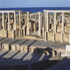 Leptis Magna was enlarged and embellished by Septimius Severus, who was born th