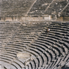 The ancient theater of Hierapolis was build during the reign of Lucius Septimiu