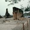 Portuguese ruins of Cidad Velha, volcanic area