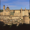 Historical district in Urbino