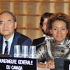 35th General Conference: Mr Koïchiro Matsuura, Director-General of UNESCO, rece