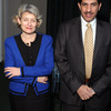 Ms Irina Bokova, Director-General of UNESCO, received the visit of HE Mr.Nassir