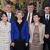 UNESCO group. At the center: Ms Irina Bokova Director-General of UNESCO with Cl