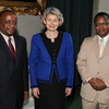 Ms Irina Bokova, Director-General of UNESCO, received the visit of HE Mr Daniel
