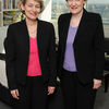 Ms Irina Bokova, Director-General of UNESCO, received the visit of Ms Helen Cla