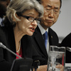 Ms Irina Bokova, Director-General of UNESCO With Mr Ban Ki-moon, Director-Gener
