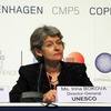 Ms Irina Bokova, Director-General of UNESCO, at the 2009 UN Conference on Climat