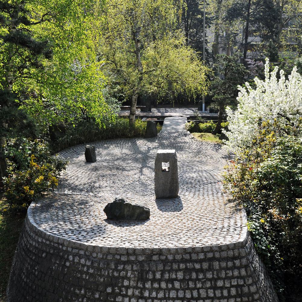 Le Jardin De La Paix Ou Jardin Japonais Unesco Mediabank