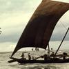 Traditional fishing, sailing boat