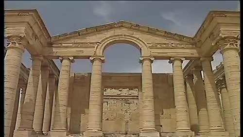 World Heritage site of Hatra.mp4