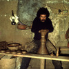Traditional potter, handicrafts, pottery