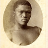 A!Kunta, a Bushman informant who worked with Dr Bleek and L. Lloyd.