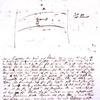 Letter from Søren Kierkegaard to his fiancée, Regine Olsen, 1840.
