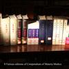 Various editions of Compendium of Materia Medica