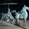 Hitched chariot, later Han period (24-220 A.D.)