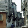 Zeyrek ancient quarter, wooden houses, restoration, old street
