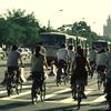 Cycling in Beijing, street, trafic