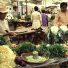 Market, vegetables