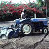 Experimental farming, tractor