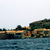 Old houses on the Island of Gorée, slavery