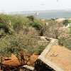 View of the Island of Gorée, slavery