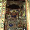 Frescoes and icones in Bichena church