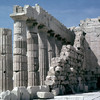 Acropolis, the Parthenon, details of columns, classical Greek art