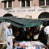 Everyday life, local market and Centre Culturel Albert Camus
