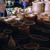 Everyday life, local pottery market