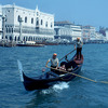 View of Venice, Palace of Doges, the Grand Canal, Renaissance style, gondola