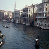 View of Venice on the Grand Canal, gondolas, Renaissance style, Venitian dwelli